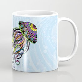 Electric Jellyfish Coffee Mug