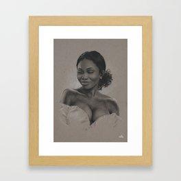 Queen Umba Framed Art Print