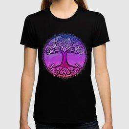 Tree of Life - Hot Pink T-shirt