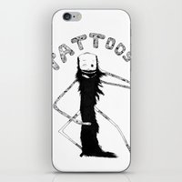 tattoos iPhone & iPod Skins featuring Tattoos by lightwolv