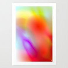 Plasma Clouds Art Print