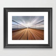 Southend On Sea Pier Framed Art Print