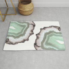 Light Water Agate Rug