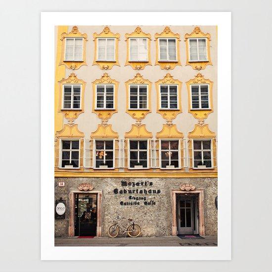 Mozart Residence  Art Print