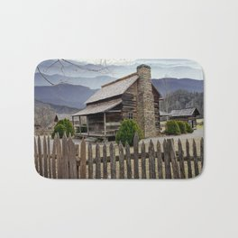 Appalachian Mountain Cabin Bath Mat