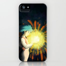 Howl Caught a Falling Star! iPhone Case