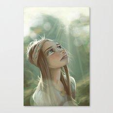 Morning Sunlight Canvas Print