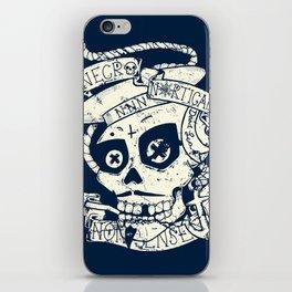 Necro Nautical Nonsense  iPhone Skin