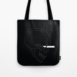 LINE #Skull (Dark) Tote Bag