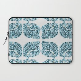 Bluefish Fish India Block Print Boho Laptop Sleeve