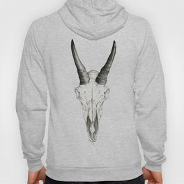 Mountain Goat Skull Hoody