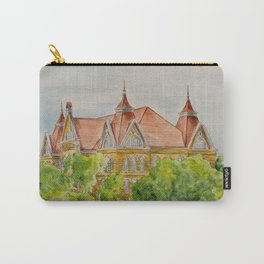 Texas State (SWT) University Old Main Building, San Marcos, TX Carry-All Pouch