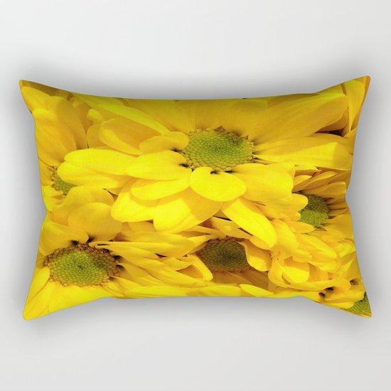 Yellow Daisies Rectangular Pillow