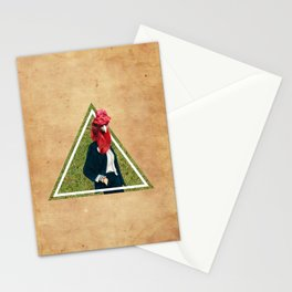 Coq head Stationery Cards