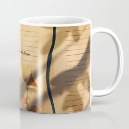 I was trapped in the lines illustration (Part 1/4: Books) Coffee Mug