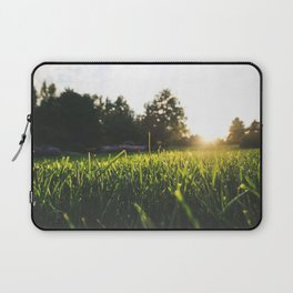 Sunset over the Blades Laptop Sleeve