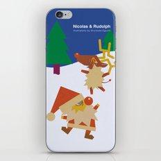 Nicolas&Rudolph iPhone & iPod Skin