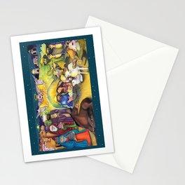 Peace on Earth Nativity Stationery Cards