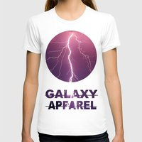 lightning T-shirts featuring LIGHTNING by GALAXY APPAREL