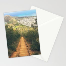 Koko Head Trail And Landscape View Stationery Cards