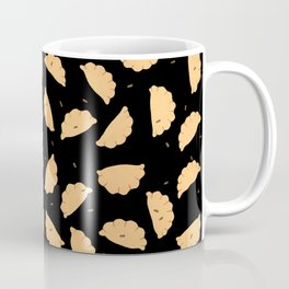 Dumplings - Black Pattern Coffee Mug