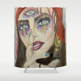 I know something you don't know Shower Curtain