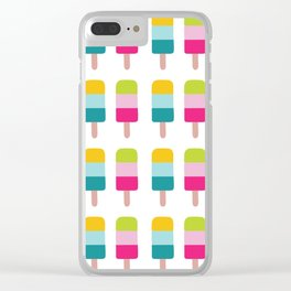 Ice lolly dream Clear iPhone Case