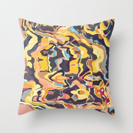 Hyenas Essence Throw Pillow