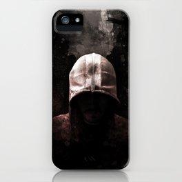 Modern Assassin Hood - Color iPhone Case