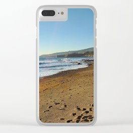 Sandy Shores Clear iPhone Case