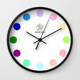 Robert Hirst Spot Clock 12 Wall Clock