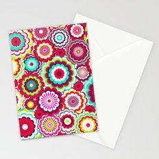 Bright Flower Dash Stationery Cards
