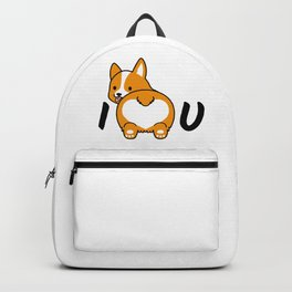 I love corgis and you Backpack