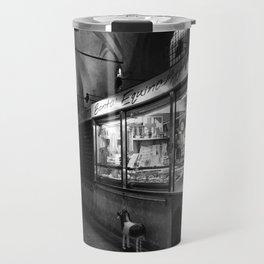 the horse meat arcade - budapest Travel Mug