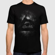 The Eye LARGE Mens Fitted Tee Black