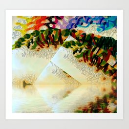 Opera in the Park Art Print