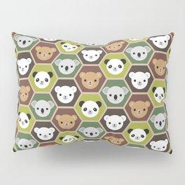 Kawaii Autumn Bears Pillow Sham