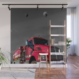 First Responders Wall Mural