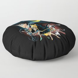 Sailor Girl Floor Pillow