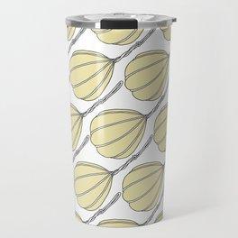 Provolone (cheese pattern) Travel Mug