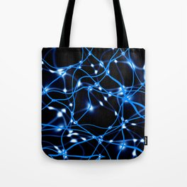 Abstract Neurons Network 3 Tote Bag