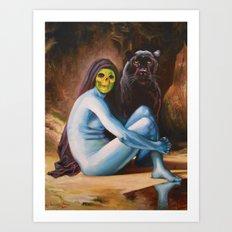 Seated Sorcerer Art Print