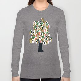 Bird houses Long Sleeve T-shirt