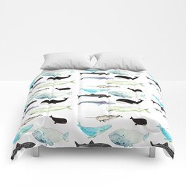 Whales! Comforters