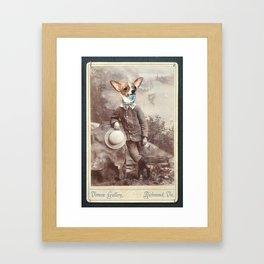I, CHIHUAHUA Framed Art Print