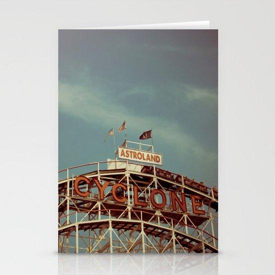 Coney Island Cyclone Stationery Cards