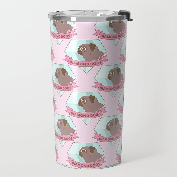 Diamond Dogs Travel Mug