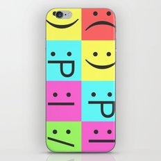 Smiley Chess Board iPhone & iPod Skin