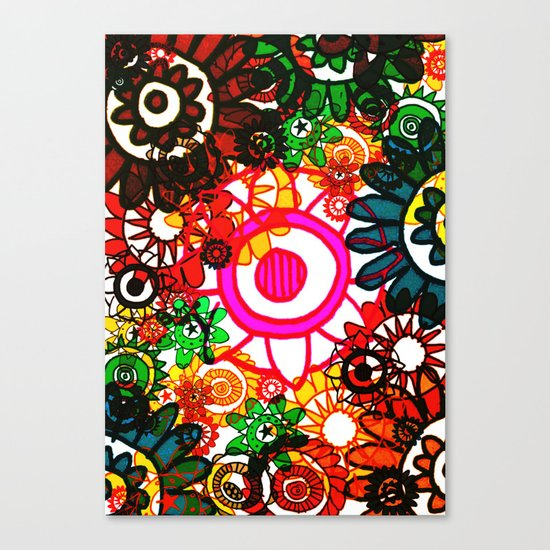 Hippy Shake! Canvas Print