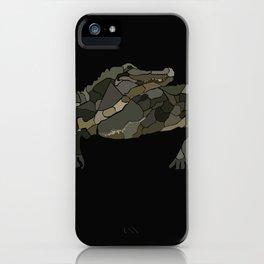Mellifluous Crocodiles iPhone Case